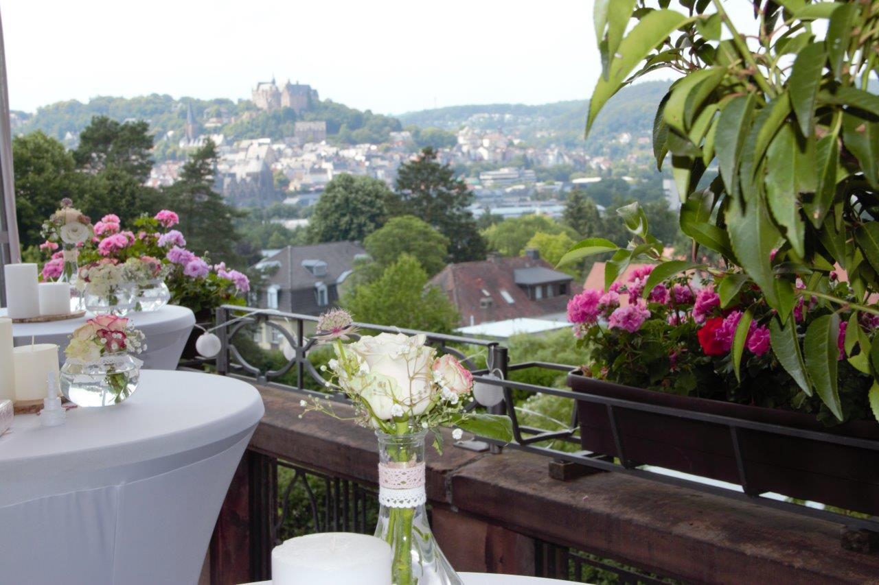 ATV Terrasse mit Schlossblick (1)